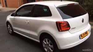 polo volkswagen 2014 volkswagen polo match edition white 2014 youtube
