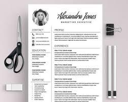 elegant resume template creative resume cv template free