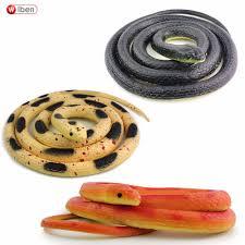 2017 wholesale wiben halloween realistic soft rubber snake fake