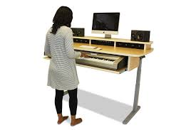 Stand Sit Desk by Music Studio Desks Home Studio Workstations Summit Keyboard