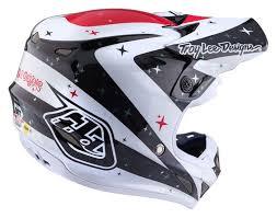 carbon fiber motocross helmet 2018 troy lee designs se4 carbon helmet twilight white ebay