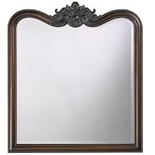 Antique Bathroom Mirrors by 34 In X 38 In Vintage Framed Mirror In Antique Bronze 4079 The