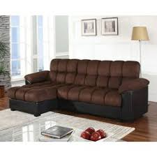 Space Saving Sectional Sofas by Furniture Of America Kemi Sectional In Black Space Saving