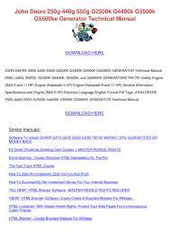 john deere 250g 440g 550g g2500k g4400k g5500 by dominickchristy