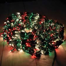 red green u0026 clear garland christmas lights 18 u0027