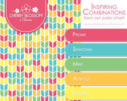 fun color schemes pink blue green and yellow charming printables