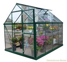 Greenhouse Palram Palram Harmony 6 X 8 Green Greenhouse Greenhouse Stores