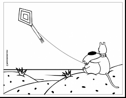 fabulous kite coloring pages printable with kite coloring page