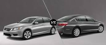 accord lx vs honda accord ex