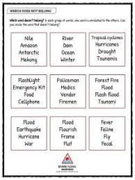 flood facts worksheets u0026 information for kids
