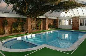 ideas brick wall design ideas with tile roof also backyard pool
