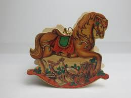 wooden rocking ornament what s it worth