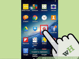 how to add to a on android how to add gmail accounts to an android 15 steps