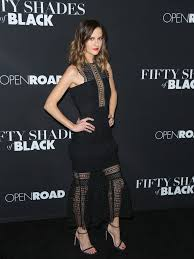 Shades Of Black Britt Shaw Photos Photos Celebrities Attend The U0027fifty Shades Of