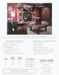 new aire fireplace systems