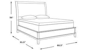 belcourt cherry 3 pc queen platform bed beds dark wood