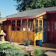 How To Build A Shed Step By Step by How To Build A Garden Shed Addition Family Handyman