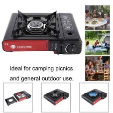 portable table top butane stove portable single burner butane gas stove hard case tabletop cing