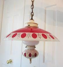 1940s kitchen light fixtures rare vintage 1940 s red porcelier ceiling light fixture kitchen