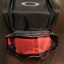 oakley motocross goggle lenses oakley airbrake mx goggles mtbr com