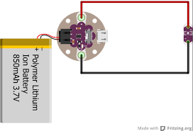 lilypad simple power hookup guide learn sparkfun com