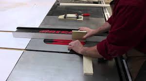 make a quick and simple cabinet door solely on a sawstop youtube