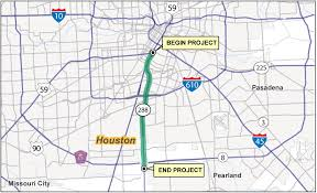 harris county toll road map state highway sh 288 toll lanes project us department of