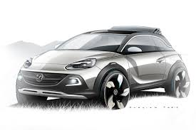 opel adam new opel adam rocks is a faux crossover flavored concept with a
