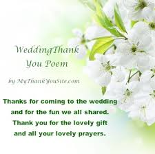 wedding wishes poem wedding poems for thank you cards and notes