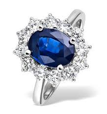 sapphire engagement rings meaning blue sapphire engagement rings white gold ring