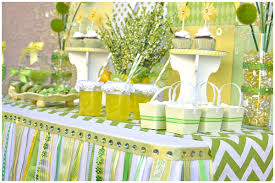 green baby shower decorations themed baby shower ideas baby shower