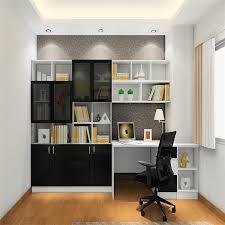 simple computer desk bookcase combination of creative home simple