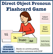 an interactive kinesthetic activity for practicing direct object