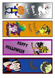 halloween in spanish how to craft printable halloween bookmark hellokids com