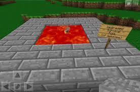 how to write on paper in minecraft pe my lava pool in minecraft pe nikodoesminecraftpe pinterest my lava pool in minecraft pe