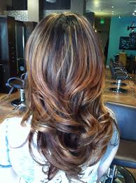long brown hairstyles with parshall highlight partial highlight ombré hair pinterest partial highlights