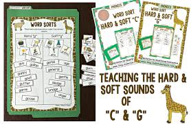 teaching the soft and hard sounds of