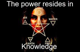 Knowledge Meme - wiccan meme power is in knowledge steemit