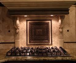 kitchen backsplash medallion kitchen backsplash medallions mosaic tile metal backsplashes in