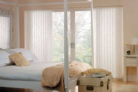 Custom Patio Blinds Custom Vertical Blind And Designer Roller Shade With Matching