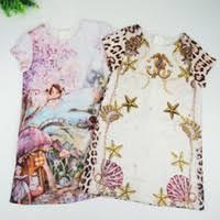 where to find best girls long sleeve leopard print dress online