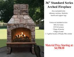 wood fireplaces outdoor fox valley stone u0026 brick