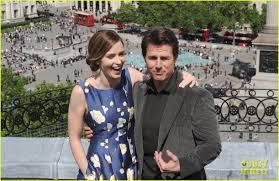 Tom Cruise Mansion by Tom Cruise U0026 Emily Blunt Buddy Up For U0027edge Of Tomorrow U0027 London
