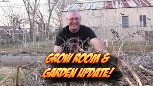 indoor vegetable grow room seed starting u0026 garden update youtube