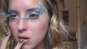 halloween makeup tutorial ice princess fairy youtube