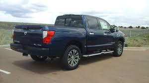 nissan blue truck arctic blue 2017 nissan titan sl 4wd crew cab pickup