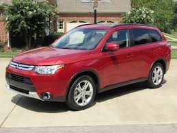 mitsubishi outlander sport 2016 red 2015 mitsubishi outlander se s awc start up test drive and in