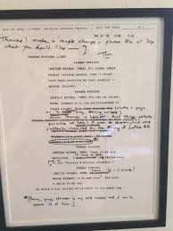 see author thomas pynchon u0027s handwritten edits to his u0027simpsons