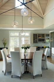coastal dining room photos hgtv cape cod with cathedral ceilings