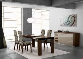 splendid simple modern stylish symmetry dining room interior